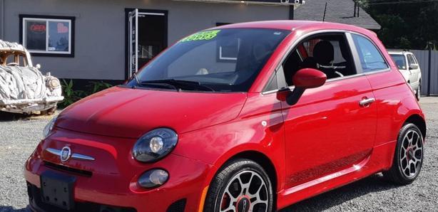2013 Fiat 500 Sport Black Creek Motors