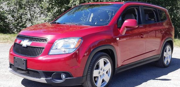 2012 Chevrolet Orlando LT Black Creek Motors