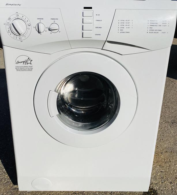 Compact Simplicity Frontload Washer
