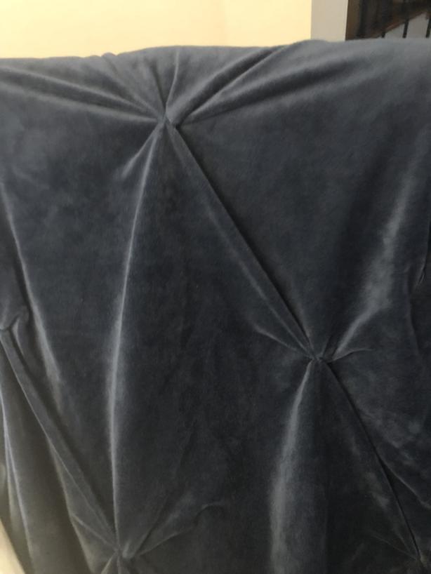 Soft Plush Fleece Blanket / Comforter Navy Blue Double / Queen
