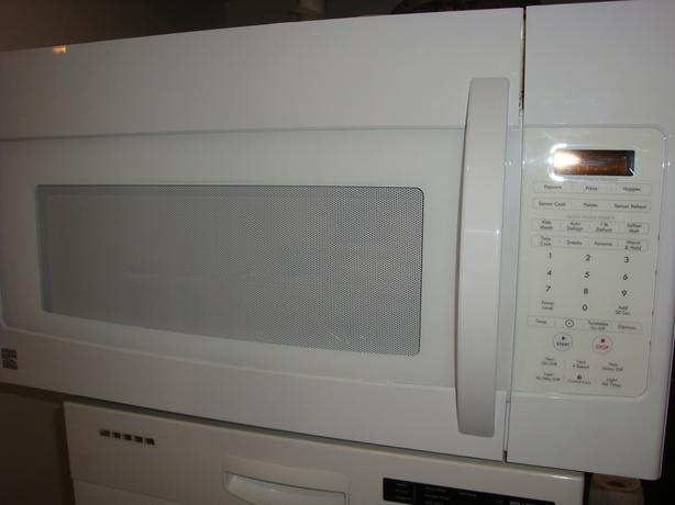 Kenmore microwave range hood in excellent condition