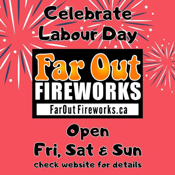 Fireworks - Labour Day