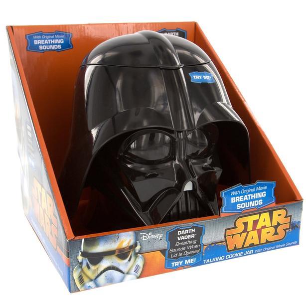 New Star Wars Darth Vader talking cookie jar