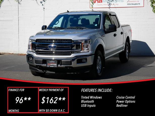 2019 Ford F-150 XLT FX4 4WD - LOCAL BC TRUCK - NO ACCIDENTS!
