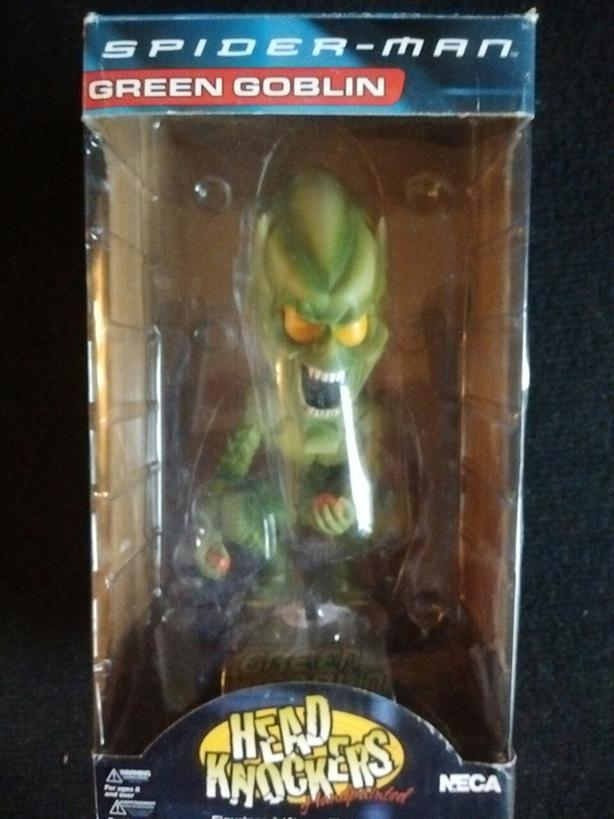 2002 GREEN GOBLIN HEAD KNOCKER