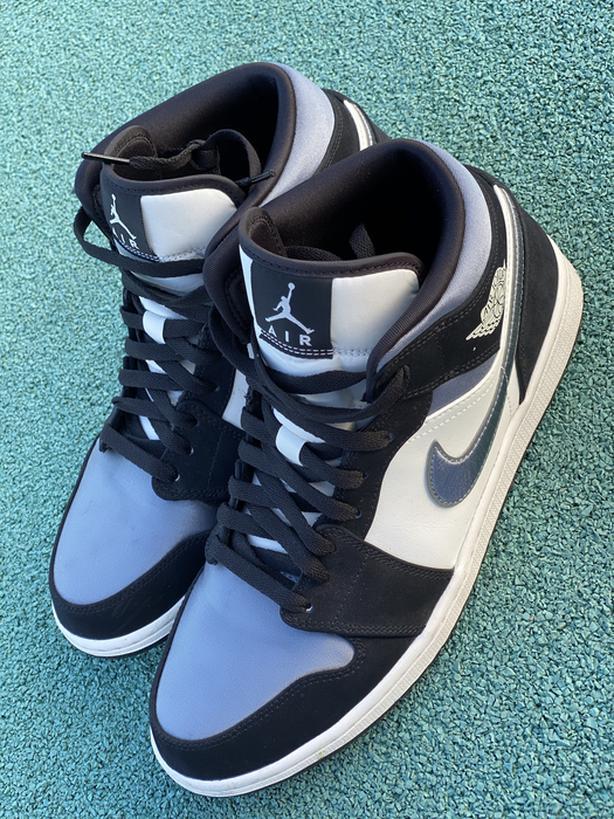 Jordan 1 Satin Grey Toe