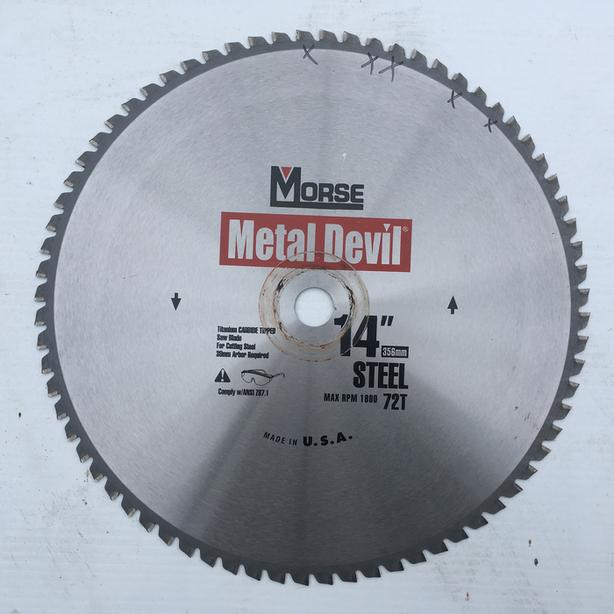 "Titanium CARBIDE TIPPED Saw Blades for cutting Steel - 1"" Arbor in Port Alberni"