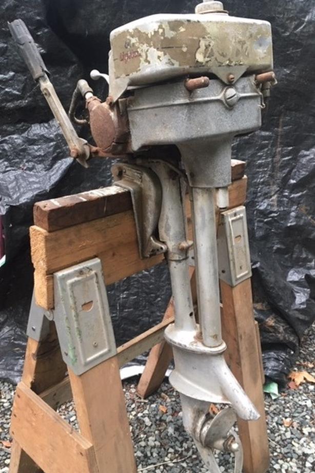 1940 EVINRUDE 5 HP - 4313 -50014 in Port Alberni