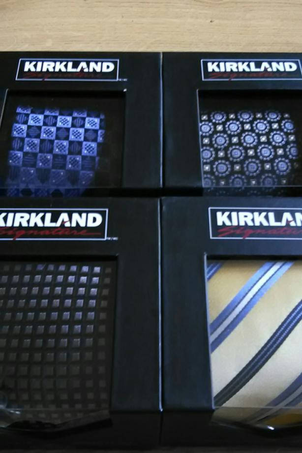 4 KIRKLAND SIGNATURE TIES