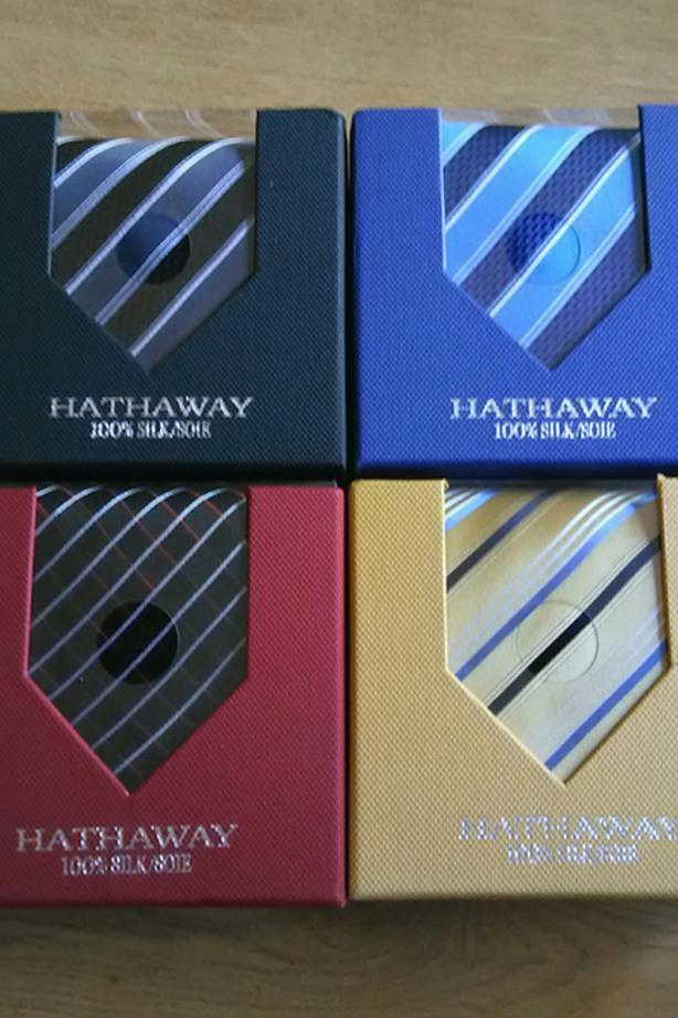4 HATHAWAY TIES