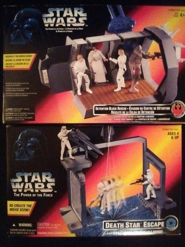 1996 The Power of The Force Figure Playsets