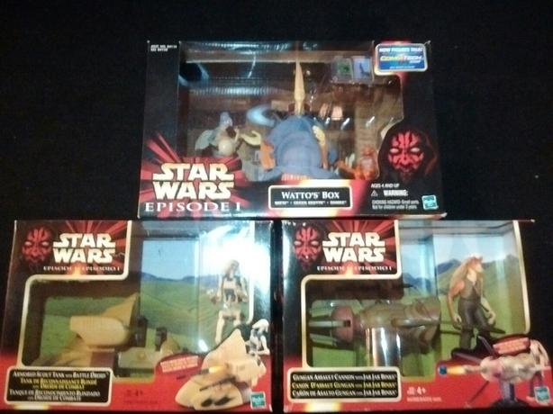 Star Wars Episode 1 Action Figures Playsets