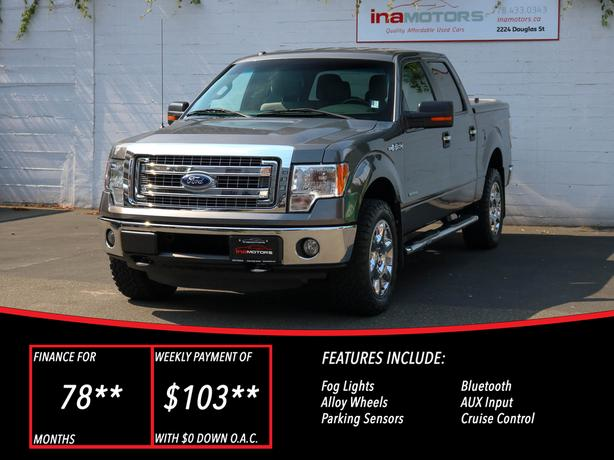 2013 Ford f-150 XLT XTR 4WD - NO ACCIDENTS!