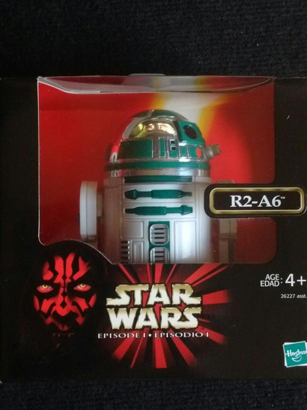 """1998 Hasbro 6"""" R2-A6 Episode 1"""