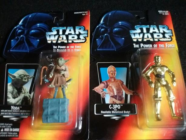 1995 KENNER THE POWER OF THE FORCE C-3PO -  YODA