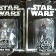 Star Wars Conversation Collector Figures Darth Vader - Baba Fett