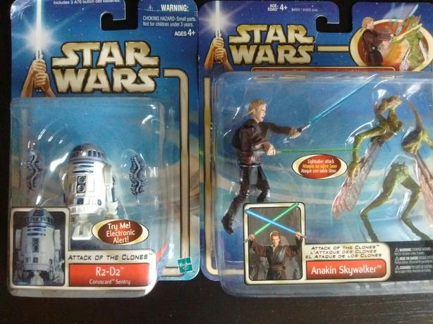 Star Wars Attack of the Clones ANAKIN SKYWALKER - R2-D2