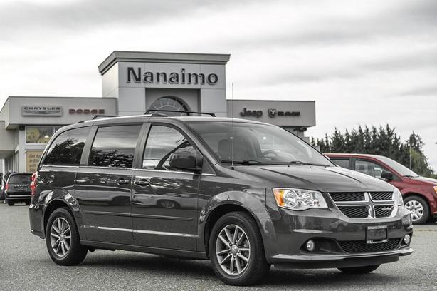 Used 2015 Dodge Grand Caravan SXT+ One Owner DVD Player Van Passenger Van