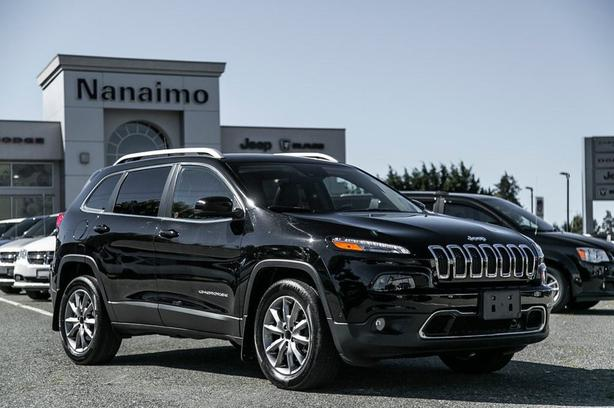 Used 2017 Jeep Cherokee Limited One Owner No Accidents SUV
