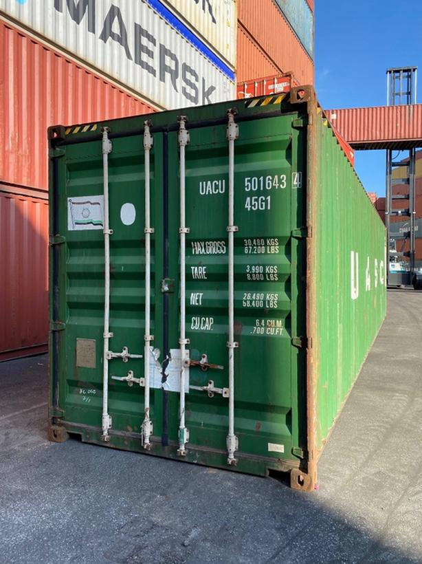 HONEYBOX INC. - DELTA - 40HC CW - used shipping container - UACU5016434