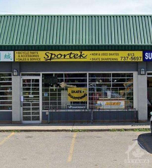 This established sports shop is located on Pleasant Park Dr
