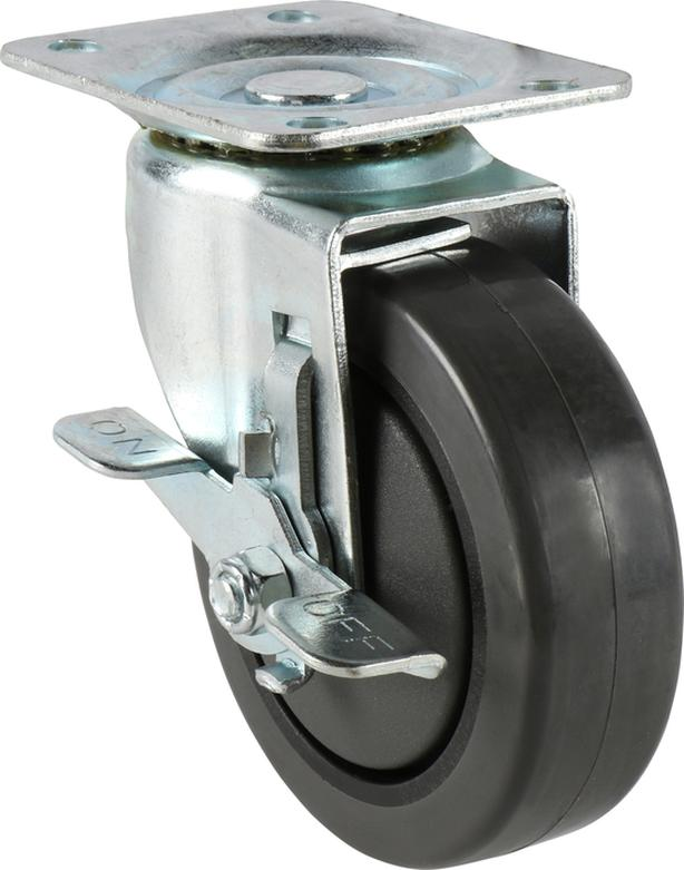 "4"" Precision Bearing Swivel Caster with Brake"