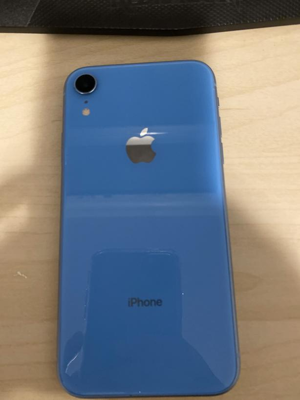 Blue iPhone xr for $700