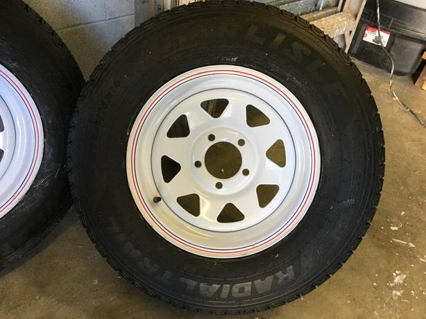 Radial Trailer Wheels and Tires New ST205/75R14
