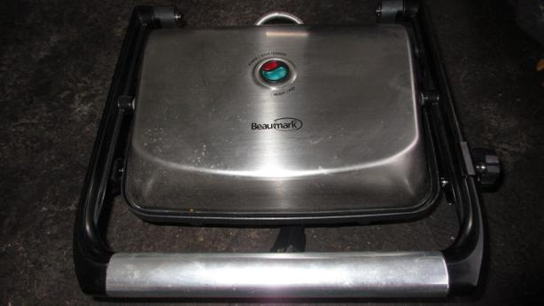 Gourmet stainless steel sandwich panni  press grill