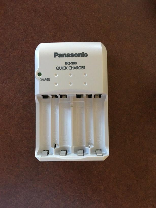 2 smart battery chargers rechargeable AA & AAA: Panasonic & BTY