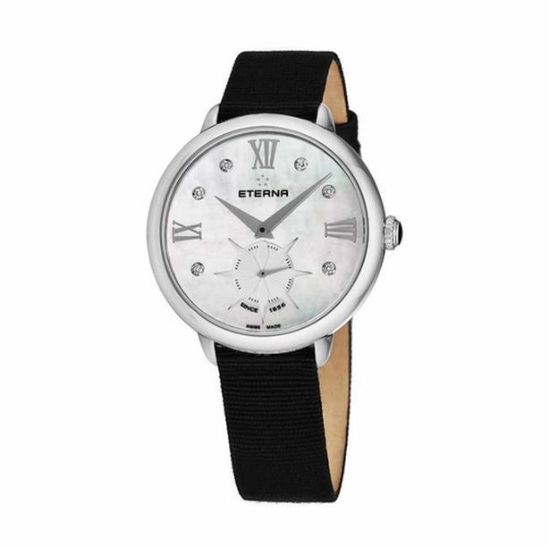 Eterna Ladies 34mm mother of pearl/diamond watch (reg $1150 USD)