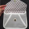 NEW White clutch purse
