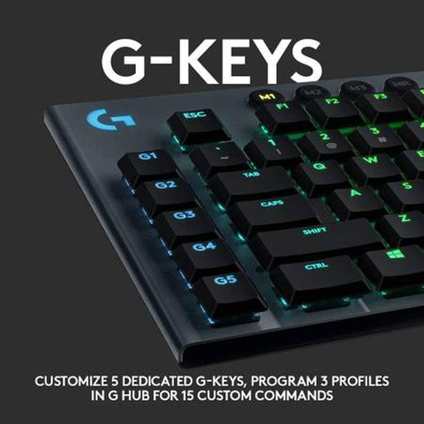 BNIB Logitech G815 Low-Profile Mechanical Keyboard Clicky