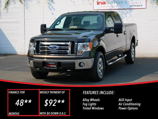 2009 ford F-150 XLT 4WD - LOCAL BC TRUCK!