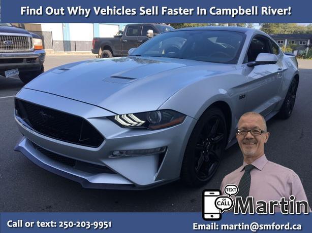 2019 Mustang GT Premium 5.0 V8 – 6 spd manual – LOW KM's