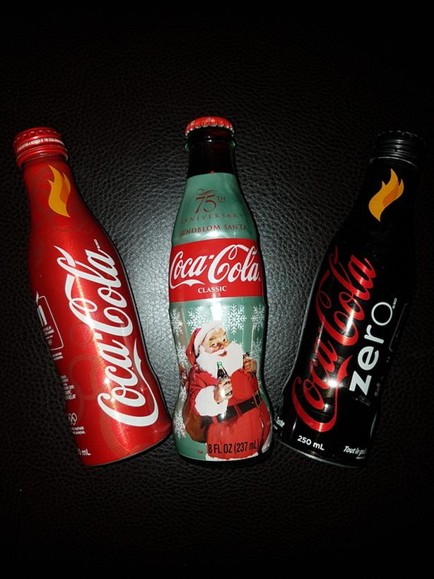 Coca cola collectible bottles