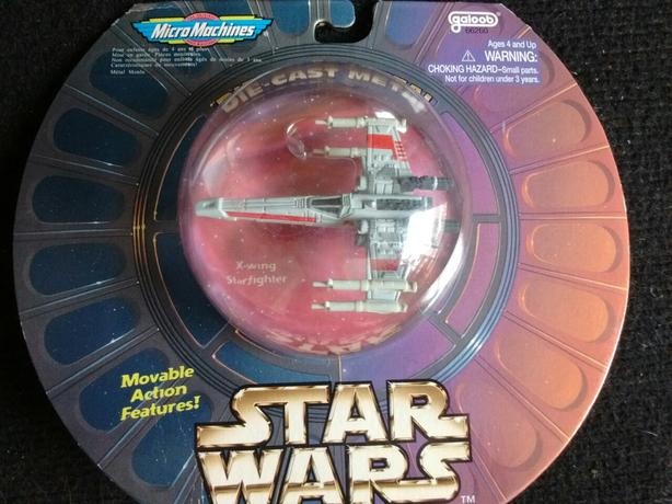 1997 Star Wars Die-Cast Metal  X-WING STARFIGHTER