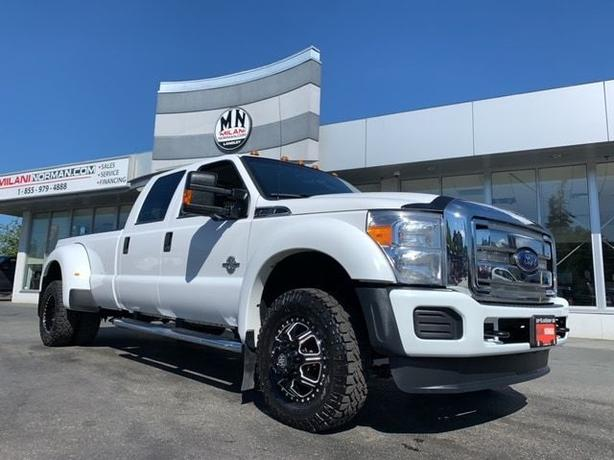 Used 2015 Ford F-350 FX4 4WD DIESEL DRW DUALLY WIDE-TRACK 98KM Truck Crew Cab