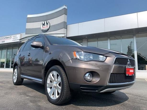 Used 2013 Mitsubishi Outlander ES 2.4L 4CYL 7-PASSANGER NAVI ONLY 80KM SUV