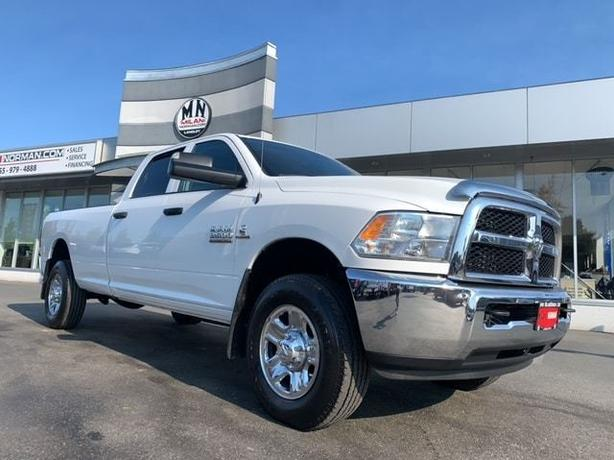 Used 2017 Ram 3500 SLT 4WD LB 6SPD MANUAL HEAD-STUDS DELETED TUNED 115KM Truck C