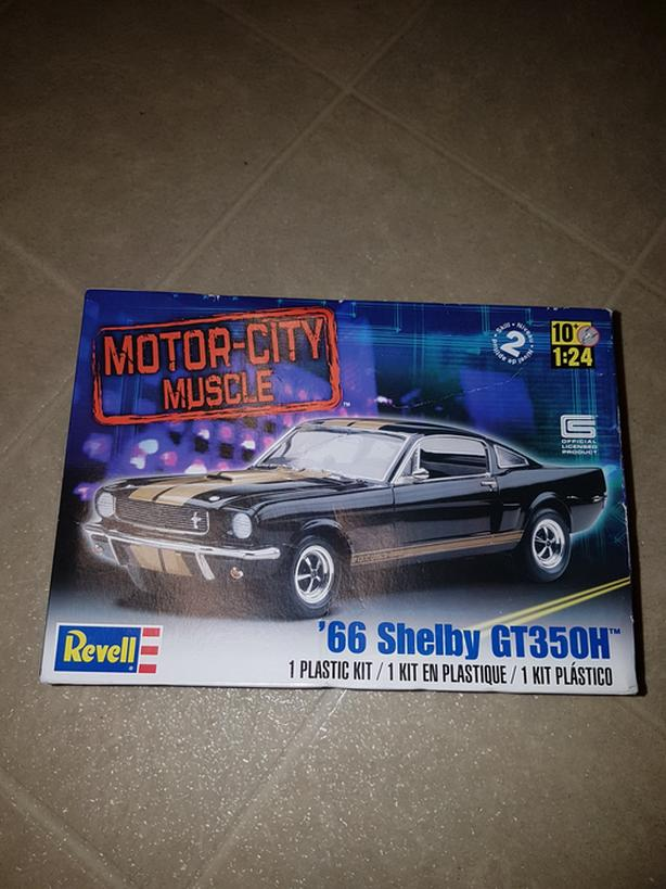 Revell Model 66 shelby got mustang