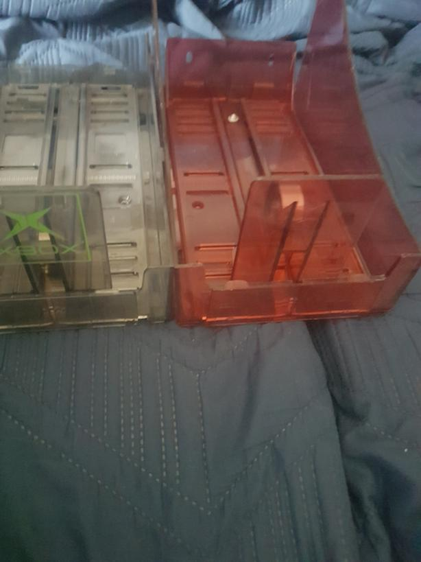 Video game storage trays