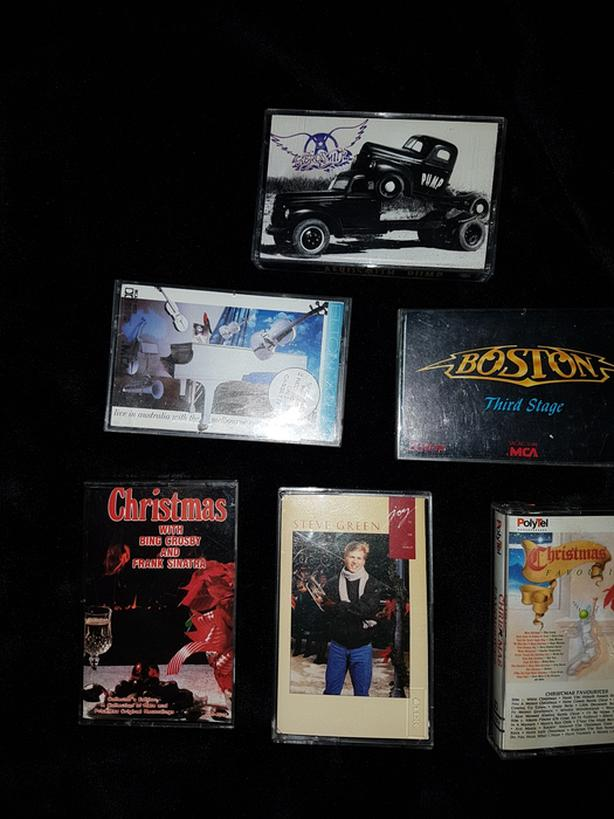Cassette tapes fro 70 s and 80 s