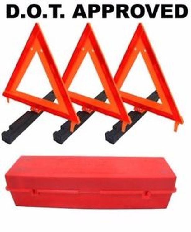 NEW Roadside warning triangle kit