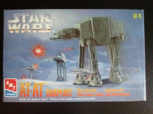 1997 Star Wars AT-AT Snapfast Model kit Wind up Action Walker