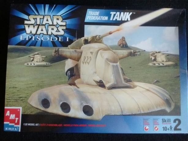 Star Wars Episode 1 TRADE FEDERATION TANK MODEL KIT