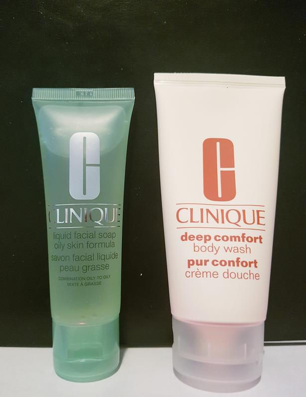 NEW Clinique facial soap and body wash