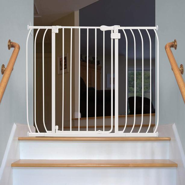 Multi-use extra tall walk-thru gate