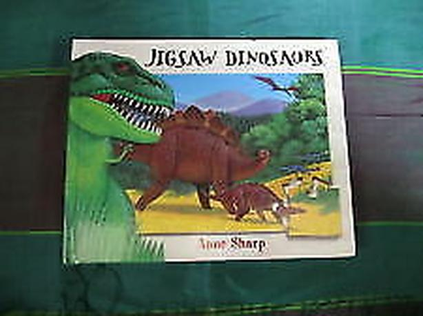 puzzle Jigsaw Dinosaurs , recreating 6 puzzle