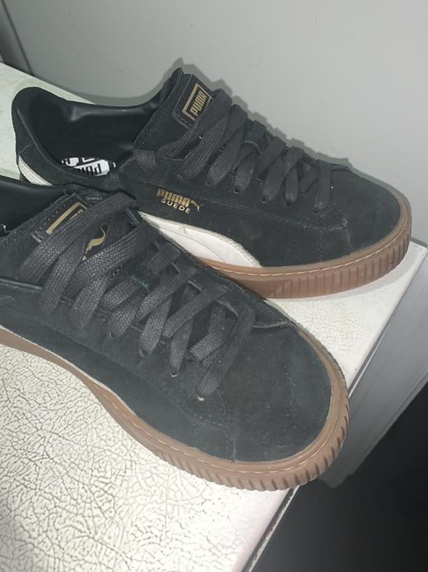 Puma platform shoes (USED)